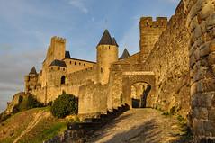 Cité de Carcassonne (Tilman W.) Tags: sun france de evening frankreich cité carcassonne südfrankreich abendsonne the citédecarcassonne katarer