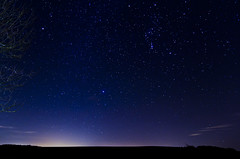 Orion over West Kennet (ORIONSM) Tags: stars orion 1750 wiltshire tamron constellation westkennet pentaxk5