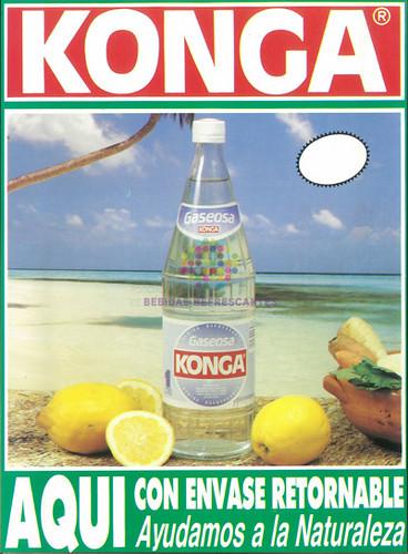"""Konga. """"Gaseosa"""". Años 80"""