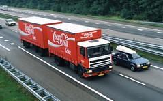 DAF 95 Coca Cola (trollpowersaab) Tags: cola 95 coca daf