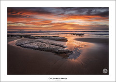 Coloured Sands (John_Armytage) Tags: beach clouds sunrise dawn australia nsw northernbeaches warriewood canon1740 leefilters warriewoodbeach canon5d3 johnarmytage