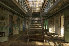 Prison 15H 49 (Yanshee) Tags: urban art abandoned lost decay forbidden prison forgotten jail exploration derelict hdr ue urbain urbex 15h prisonbreak h15