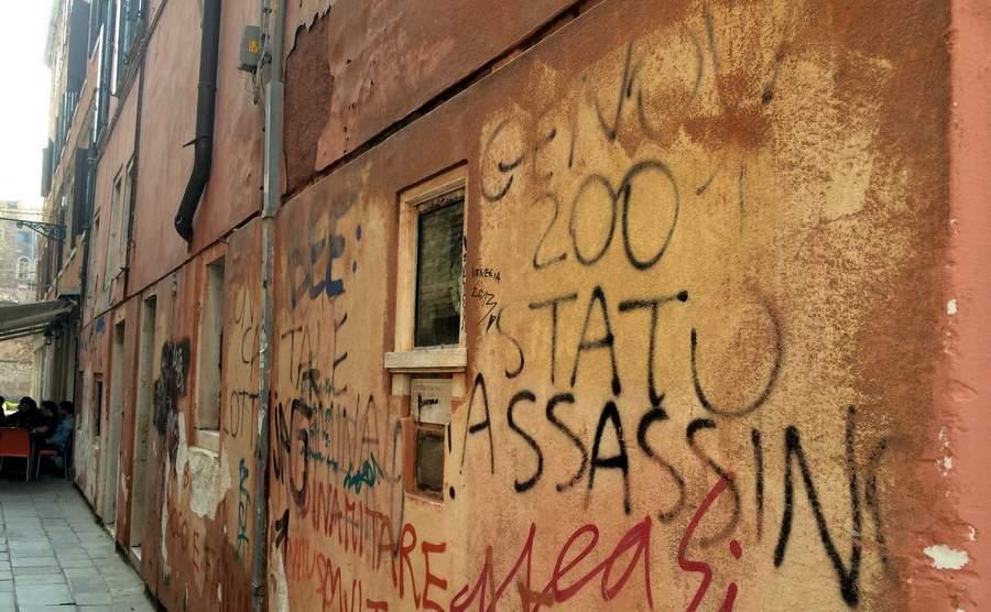 Граффити против Генуэзской Республики