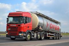 Scania G440 'Hoyer Group' reg MX63 OCO (erfmike51) Tags: lorry artic tanker hoyergroup scaniag440