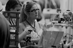 Festival of the Arts (Matthew R photography) Tags: arizona people art candid streetphotography az event cleavage tempe 2014 festivalofthearts millave canon200mmf28lii