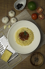 Table for one? (Patricia Therese Cabuhat Buhay) Tags: food cooking photography pasta