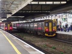 150232 Exeter St Davids (Marky7890) Tags: gwr 150232 class150 sprinter dmu 2f26 exeterstdavids railway devon train