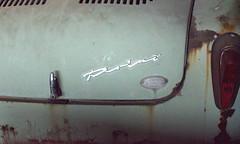 Türen (3) (Bettina.Gerstb.) Tags: scrapyard cars rust motorcycles vintagecars schrottplatz oldtimer rost motorrad autos