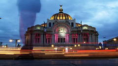 Sombra (gaquinog) Tags: anochecer cdmx bellas artes palacio centro histórico df sombra méxico