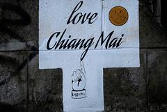 streetart and graffiti in chiang mai (wojofoto) Tags: graffiti streetart chiangmai thailand wojofoto wolfgangjosten iagazzo stencil sten
