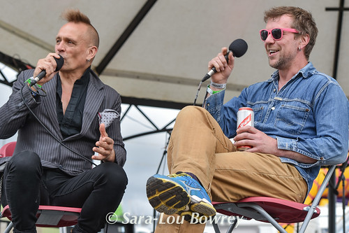 John Robb Q&A with Tony Terrovision at Beautiful Days