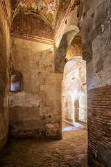 Puerta de la Justicia (jmbillings) Tags: alhambra arch architecture brick dark decay defence explore fortress gate granda light palace passage shadow stone travel
