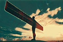 Angel of the North revisited (Rockman of Zymurgy) Tags: gormley statue angel north gateshead uk
