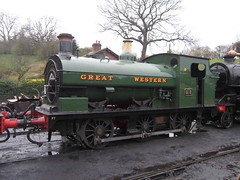 IMG_3799 - GWR Hudswell Clarke Saddle Tank 813 (SVREnthusiast) Tags: severnvalleyrailway svr severnvalley severn valley railway
