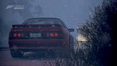 ForzaHorizon3 - 07 (ISM☆J-specN1) Tags: forza horizon fh3 mazda rx7 fc3s fc rotary winter night touge mountain blizzard snow
