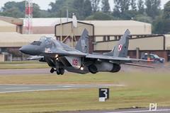 Polish Air Force MiG-29 108 (philrdjones) Tags: 2016 airtattoo aircraft egva ffd fairford fighter fulcrum gurevich jet july mig29 mig29a mikoyan military plane poland polishairforce riat royalinternationalairtattoo