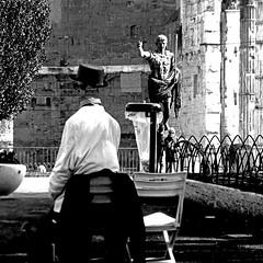 Via dei Fori Imperiali, Roma (pom.angers) Tags: panasonicdmctz30 europeanunion february 2017 roma rome lazio italia italy sculpture statue ancientrome 100