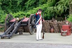 Prepare gun, (nutzk) Tags: virginia yorktown americanrevolutionmuseum recreated continentalarmy encampment firing gun