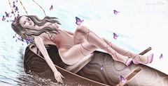 ♚ 261 ♚ (Luxury Dolls) Tags: butterfly yokai magical amd applemaydesigns shoes tableauvivant tableauvivantsl kustom9 event eleganceboutique bodysuit boat natureza nature fashion style blog store pretty woman girl thesecretaffair gacha rare common cosmopolitan lelutka bento