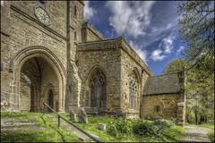Newnham Church Entrance (Darwinsgift) Tags: newnham church daventry northamptonshire exterior hdr photomatix nikkor pc pce e 19mm f4 nikon d810 spring