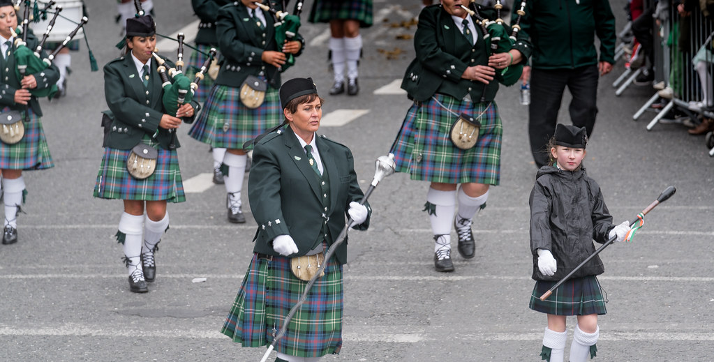 St. Joseph's Pipe Band From Glasdrumma [St. Patricks Day Parade 2017]-125893