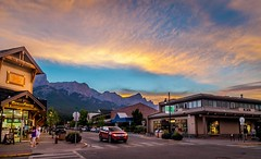 Canmore (dorinser) Tags: canmore alberta canadianrockies sunset