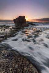 Sun shelf (.njep) Tags: nsw northernbeaches sunrise turimettabeach goldenhour ocean seascape sydney waves canon1635mmf4 canon5dmarkiv landscape