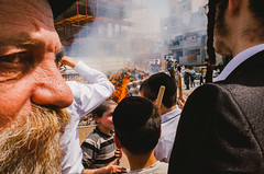 Must get out (amira_a) Tags: fire burning orthodox street pesach chametz ricohgr smoke
