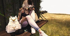 ❤️  The size of a pain. (ℒιdsα) Tags: magika blueberry tetra addams birdy nocabide bade itdoll doll blog virtualworld sl secondlife avatar cute lotd fashion gym sport pain sad sadness bag cry cryinh blonde girl snapshot game sneakers pink landscape