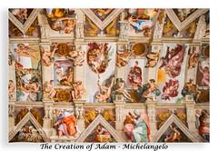 (original fool) Tags: creationofadam god adam sistinechapel vaticancity vatican italy rome michelangelo