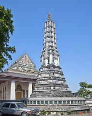 Wat Nangnong Phra Wihan and Chedi (DTHB0437) วัดนางนอง พระวิหาร และ เจดีย์