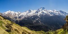 Gourette (DouxVide) Tags: france gx8 mft m43 stitching panorama gourette pyrenees mountain snow sky spring aquitaine nouvelleaquitaine landscape daytime bluesky pau sudouest bearn nature