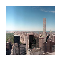 (roberto_saba) Tags: kiev88cm kiev carlzeissjena zeiss flektogon mediumformat 6x6 120 kodak portra 400 newyork nyc ブローニー centralpark manhattan 432parkavenue attbuilding sonybuilding philipjohnson johnburgee rafaelviñoly