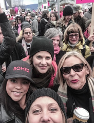 IMG_0262 (justine warrington) Tags: womens march womensmarch womensmarchonwashington washington pink pussy hats pinkpussyhat protest signs trump 45th presidential election january 21st 2017 potus resist resistance is fertile