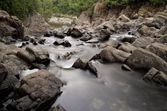 Ever Downward (95wombat) Tags: waterfall adirondack boquetriver splitrockfalls newyork evening twilight