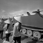 Vietnam 1972 - Photo by Raymond Depardon - On the road to My Tho thumbnail
