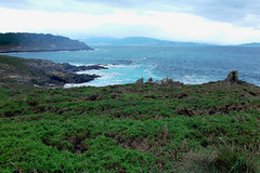 CABO HOME - Two parts (LUAL audiovisual) Tags: cabo cabohome cangas islas island islascíes headland cape landscape paisaje verde green natural naturaleza nature naturalplaces vistas sightseeing costa coast playa sky cielo mar atlántico atlantic blue ocean océano land photo turismo visit mirada nubes clouds