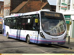 First 63314 (TheTransitCamera) Tags: first63314 highwycombe england uk unitedkingdom greatbritian transit transportation transport travel city urban bus service fixedroute operator publictransit wrightbus streetlitemaxdf routex74