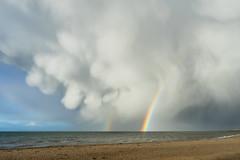 Spring Showers #2 (Ronan_C) Tags: beach clouds eastlothian musselburgh seaside sky sony2870mm sonya7mk2 sonya7m2 springshowers squall stormy