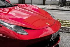 Ferrari 458 Itália (joaolessa23) Tags: ferrari ferrari458 ferrari458italia photo photography photoofday phothography fotografia foto fortaleza ceara t2i canon carros supermaquina esportivo superesportivo pictheday reflexos