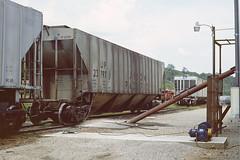 UP 23797 (Chuck Zeiler) Tags: up 23797 railroad covered hopper freight cotter chuck zeiler chz