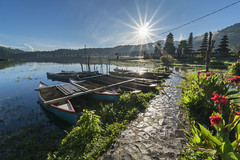 Fresh Morning at Tamblingan Lake (Pandu Adnyana Photography Tour) Tags: tamblingan sunrise morning lake bali indonesia temple bedugul singaraja munduk landscape photography tour guide baliphotography baliphotographytour baliphotographyguide balitravelphotography
