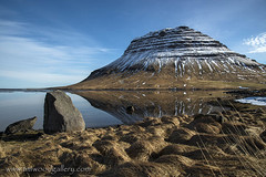 KIRKJUFELL....ICELAND. (IMAGES OF WALES.... (TIMWOOD)) Tags: iceland island march 2017 route1 hringvegur roadtrip northernlights aurora borealis kirkjufell west south coast waterfall sunset lagoon ice glacier iceberg sea stacks cliffs mountain dakota us lake reflections