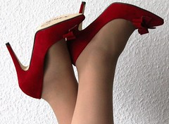 Red Hot Sexy High Heels by Anja Baffour (My Sexy Shoes) Tags: 50 gray red erotisch sexy sinnlich süse pumps