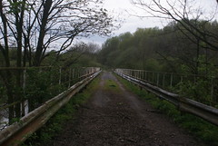 MSC Rixton Railway Bridge (Azzcart2000) Tags: train rixton bridge island manchestershipcanal railway rivermersey abandoned