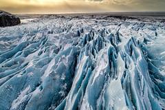 Iceland 2017 (Sandro Bisaro) Tags: glacier iceland island islanda landscape gletscher ghiacciaio aerialview aerial drone dronephotography drohne djiphantom4pro dji sandrobisaro landschaft nature djiphantom skaftafell