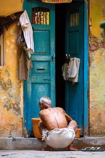 Festival preparations ~ Varanasi