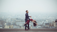 (dimitryroulland) Tags: nikon d600 85mm 18 dimitry roulland montmartre paris france urban street city dance dancer performer art sport duo love couple nautral light