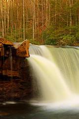 High Falls: Gusher (Shahid Durrani) Tags: high falls cheat river monongahela national forest west virginia waterfall