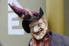 Easter-lady (irio.jyske) Tags: eastern lady street tallin estonia witch people hut terrible smile sigma canon